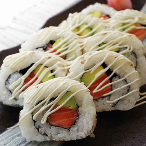 Salmon & Avocado California Roll
