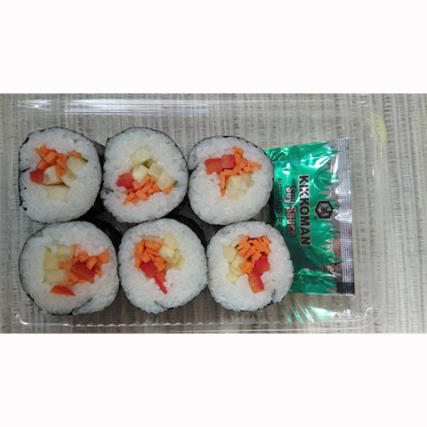 Vegetable Roll (6 Piece Pack)